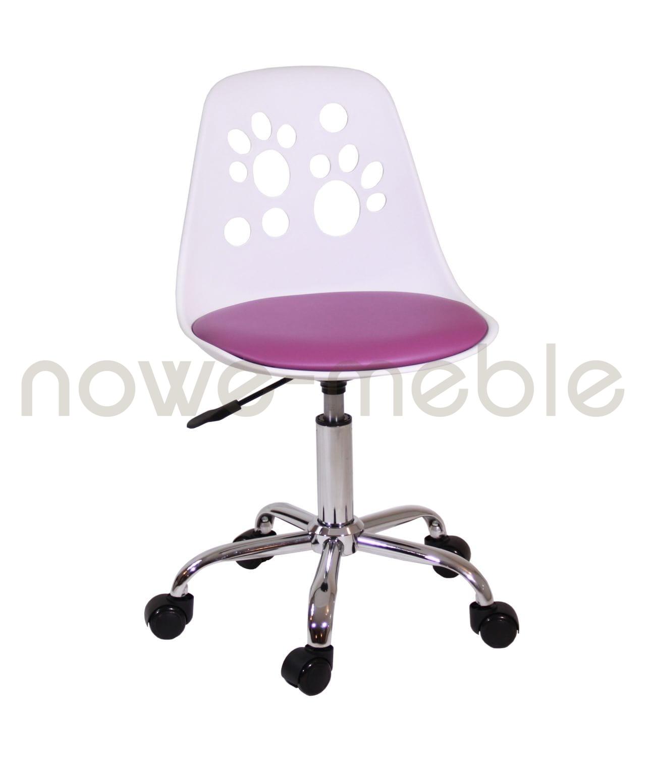 Krzesło obrotowe dla dziecka N 03 fioletowy