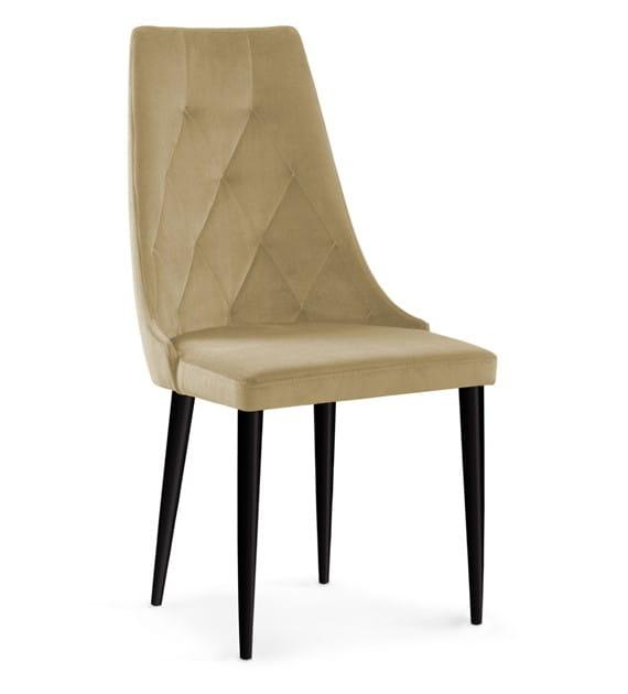Krzesło Tapicerowane Caren Ii Kolor Beżowy
